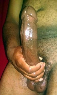 Black amateur dick submission