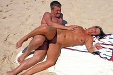 If you are on an adult beach like Cap d'Agde, you will proceed to oral and penetrative..