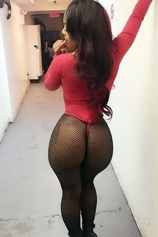 Lovely Brunette with HUGE ASS.