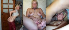 Free homemade porn - blonde swinger wife sucking a stranger and filmed by cuckold hubby