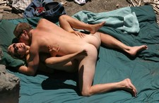 Wild fucking action in missionary position... He's a lucky guy having so adorable woman