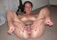 Nude ex-wife wide pussy