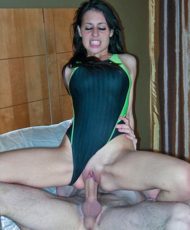 Flexible girls lick themselves